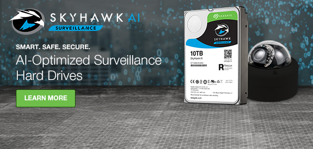 Seagate's SkyHawk and SkyHawk AI family of surveillance-optimized drives