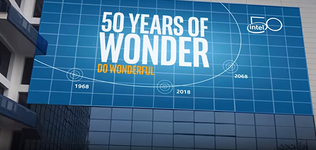 50 Years of Innovation at Intel!