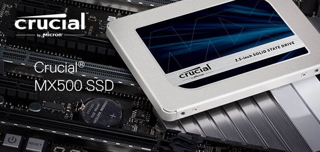 Crucial® MX500 SSD product tour