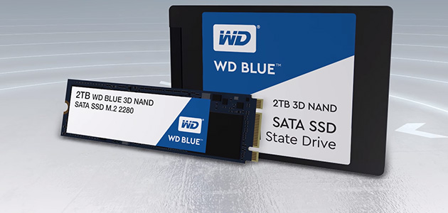 WD Blue 3D NAND SATA SSD | Official Product Overview